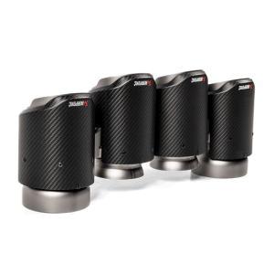 Akrapovic Carbon Fiber Exhaust Tips - X3M (F97)