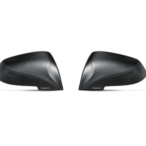 Akrapovic Carbon Fiber Mirror Cap Set Matte Finish - M2 (F87)