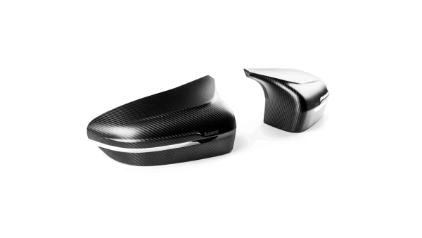 Akrapovic Carbon Fiber Mirror Cap Set Matte Finish - M5 F90