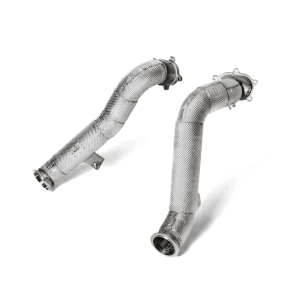 Akrapovic Downpipes Stainless Steel - S6 / S7 (C7)