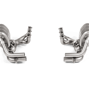 Akrapovic Evolution Header Set Titanium - 991.2 GT3
