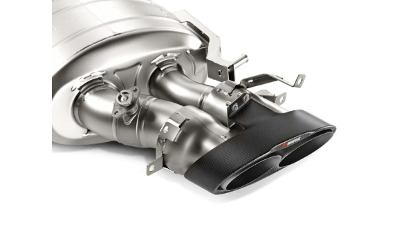 Akrapovic Evolution Line Titanium (Midpipe Included) - RS6 / RS7 (C7)