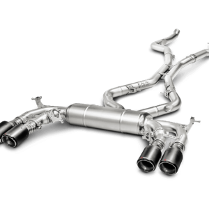 Akrapovic Evolution Line Titanium (Midpipe Included) - X5M (F85)