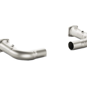 Akrapovic Link-Pipe Set w/o Cat Titanium - 911 Turbo (991)