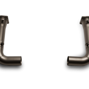 Akrapovic Link-pipe Set Titanium - 911 Turbo (997)