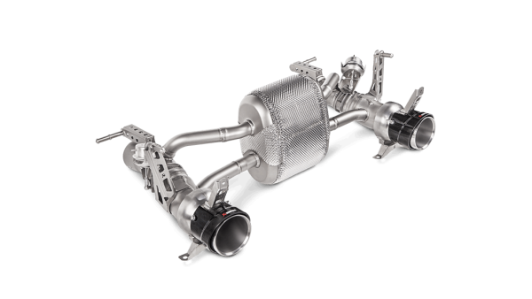 Akrapovic Slip-On Line Titanium Exhaust - 488 GTB / 488 Spider