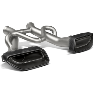 Akrapovic Slip-On Line Titanium Exhaust - 650S