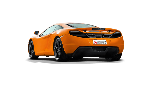 Akrapovic Slip-On Line Titanium Exhaust - MP4-12C