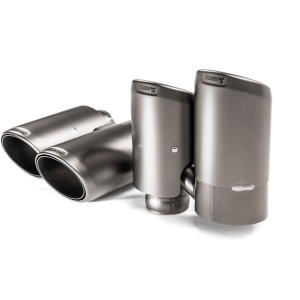 Akrapovic Titanium Exhaust Tips - Cayenne 536