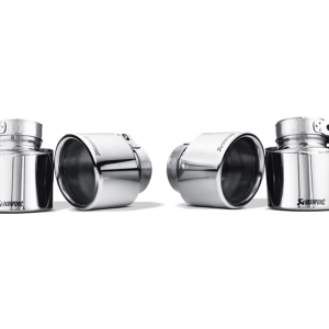 Akrapovic Titanium Exhaust Tips - X6M (E71)
