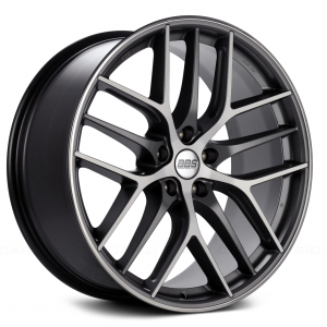 Supreme Power BBS CCR Graphite with Diamond-Cut Face