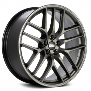 Supreme Power BBS CCR Platinum with Polished Lip Wheel
