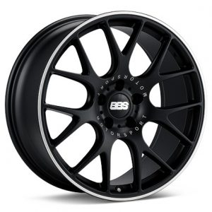 Supreme Power BBS CHR Black with Polished Lip