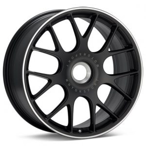 Supreme Power BBS CHR Black with Polished Lip Centerlock