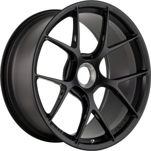 Supreme Power Porsche BBS FIR Satin Black Centerlock