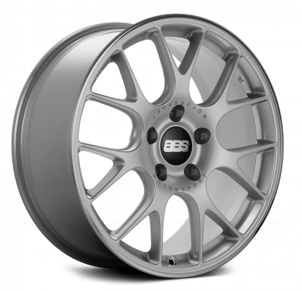 Supreme Power Wheels BBS CHR Brilliant Silver with Polished Lip Wheel