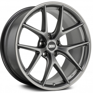 Supreme Power Wheels BBS CIR Platinum Silver with Polished Lip