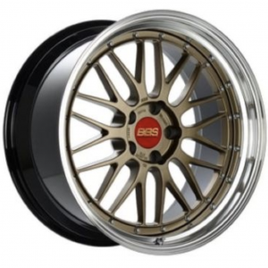 Supreme Power Wheels BBS LM Bronze 19x8.5, 5x130, ET50