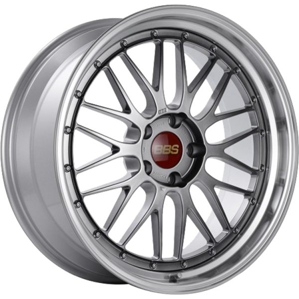 Supreme Power Wheels BBS LM Diamond Black & Diamond Cut