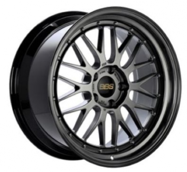 Supreme Power Wheels BBS LM Diamond Black with Diamond Black Lip