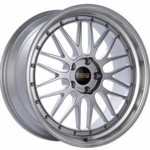 Supreme Power Wheels BBS LM Diamond Silver & Diamond Cut