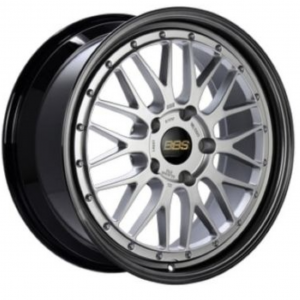 Supreme Power Wheels BBS LM Diamond Silver with Diamond Black Lip