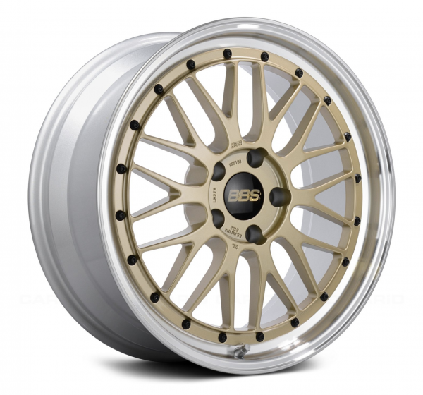 Supreme Power Wheels BBS LM Gold & Diamond Cut