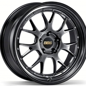 Supreme Power Wheels BBS LMR Diamond Black & Diamond Black