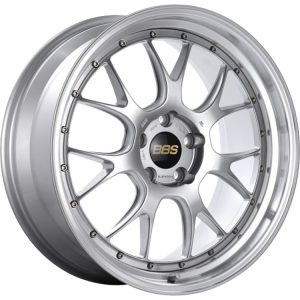 Supreme Power Wheels BBS LMR Diamond Silver & Diamond Cut