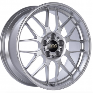 Supreme Power Wheels BBS RGR Diamond Silver