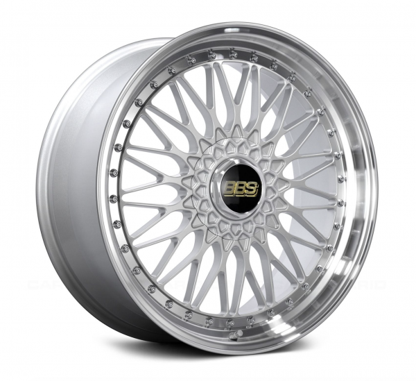 Supreme Power Wheels BBS RS Silver & Diamond Cut
