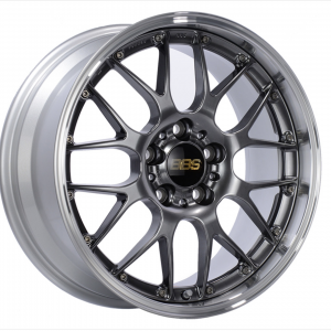 Supreme Power Wheels BBS RSGT Diamond Black & Diamond Cut