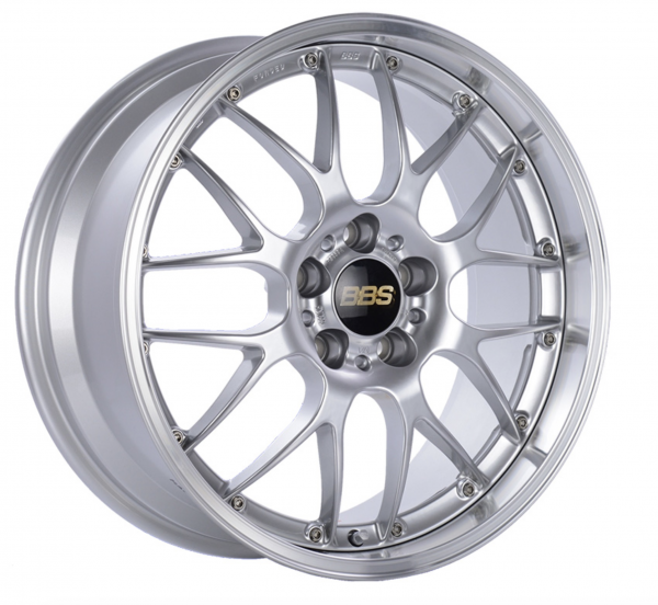 Supreme Power Wheels BBS RSGT Diamond Silver & Diamond Cut